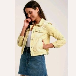 CAbi Trucker Western Denim Jean Jacket Cotton Coat